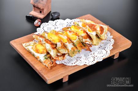 土豆丝鸡蛋饼 - 找菜图