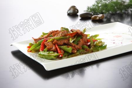 双椒小牛肉 - 找菜图