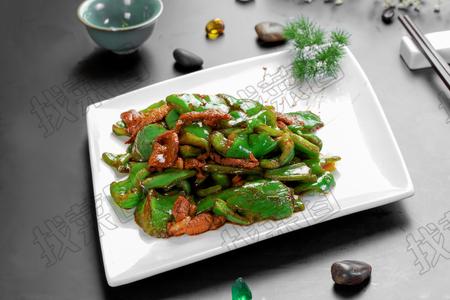 青椒炒肉 - 找菜图