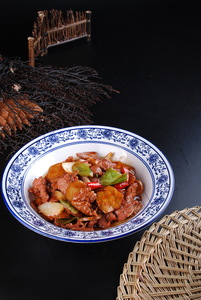 杏鲍菇烧鹿柳 - 找菜图