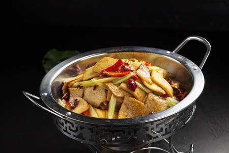 干锅千页豆腐  - 找菜图