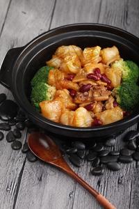 红腰豆鱼肚焖土鸡 - 找菜图