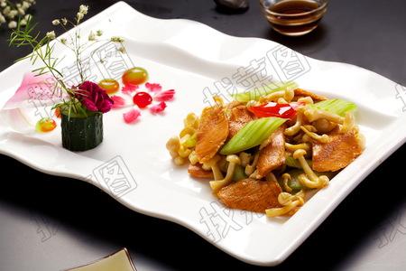 海派煎炒白玉菇 - 找菜图