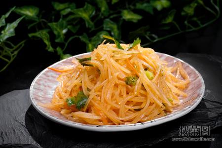 土豆丝 - 找菜图
