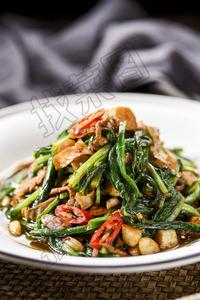 蒜蓉豆皮油麦菜 - 找菜图