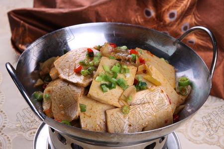 干锅千叶豆腐 - 找菜图