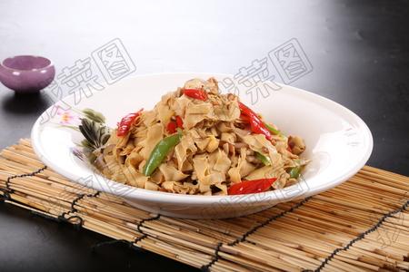熏炒干豆腐 - 找菜图