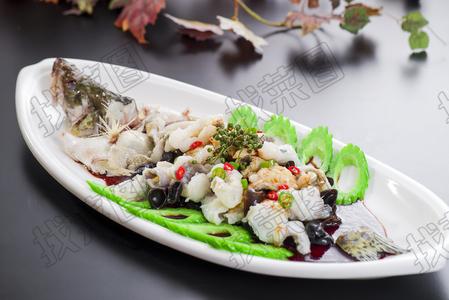 鲜花椒焗桂鱼 - 找菜图