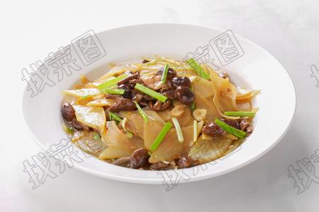 黄蘑土豆片 - 找菜图