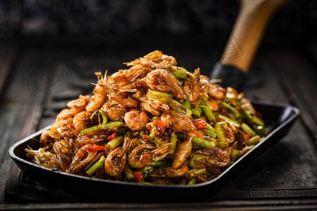 河塘小炒虾 - 找菜图
