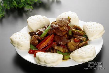 回锅肉荷叶饼 - 找菜图