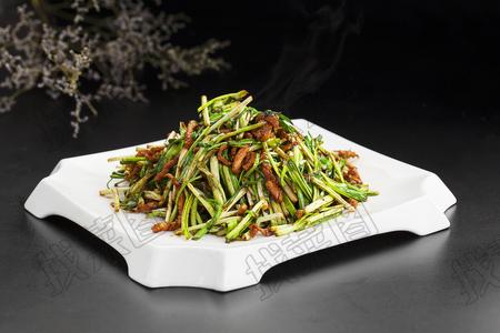 蒜苗炒肉 - 找菜图