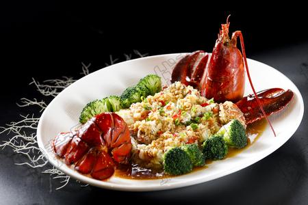 蒜蓉开边波士顿龙虾 - 找菜图