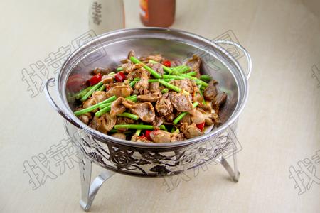 干锅鸡胗 - 找菜图