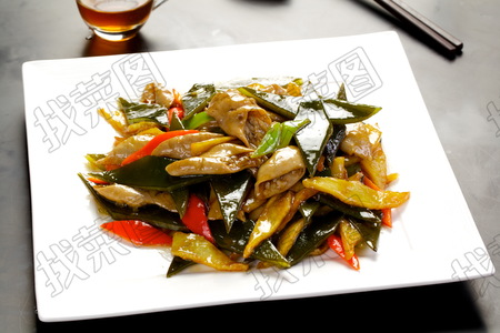 肥肠土豆烧海带根 - 找菜图