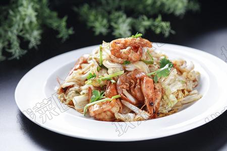 大虾炒白菜 - 找菜图