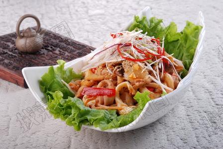 杂菌拌鸭肠 - 找菜图