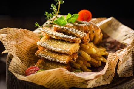 香炸刀鱼 - 找菜图
