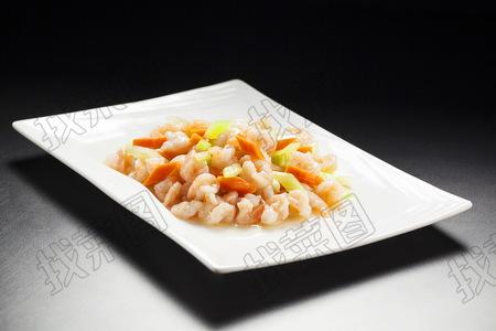 鲜炒虾仁 - 找菜图