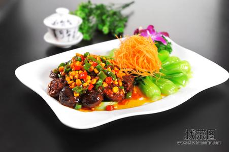 碧绿香菇 - 找菜图