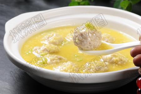 小米粥脆骨丸子 - 找菜图