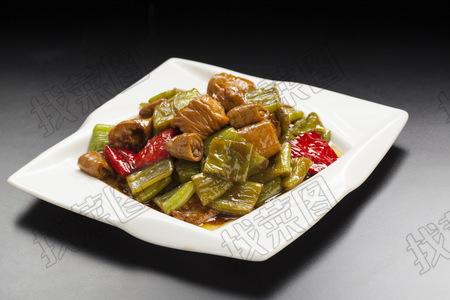 虎皮椒烧肠 - 找菜图