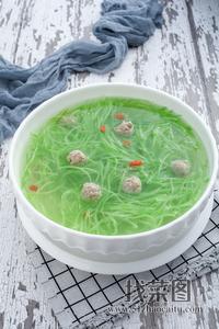 羊肉萝卜丸子粉丝汤 - 找菜图
