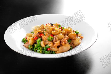 青椒回锅猪手 - 找菜图