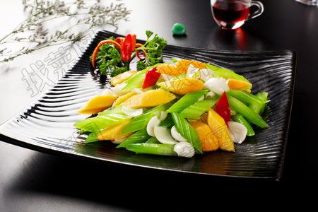 西芹木瓜百合 - 找菜图