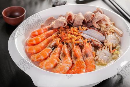 海鲜汆锅底 - 找菜图