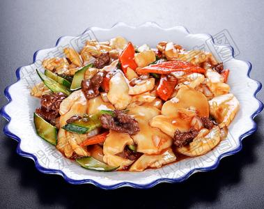 小滑肉白灵菇 - 找菜图