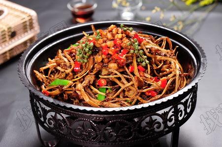 干锅茶树菇 - 找菜图