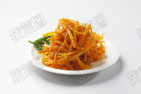 韩式明太鱼丝 - 找菜图