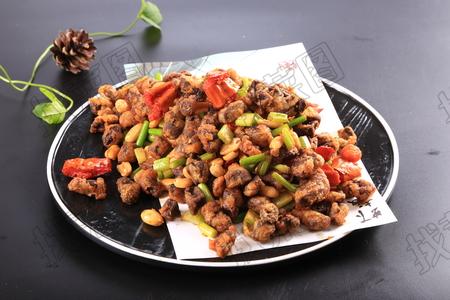 花生炒猪肝 - 找菜图