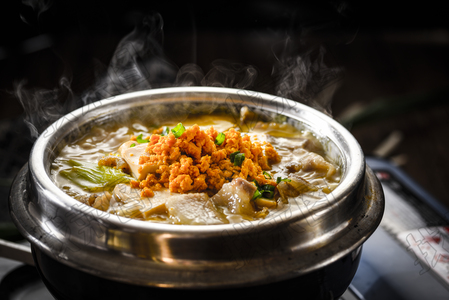 石锅海胆豆腐 - 找菜图