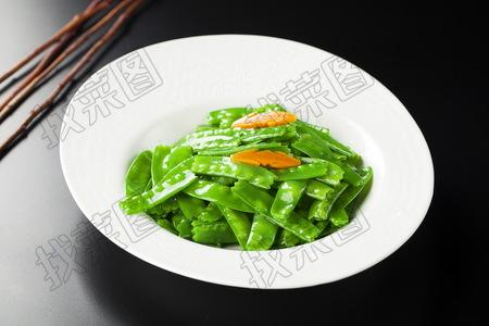清炒荷兰豆 - 找菜图