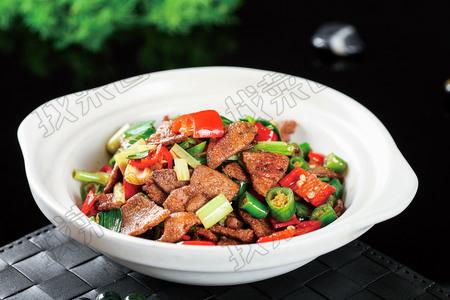 小炒羊肝 - 找菜图