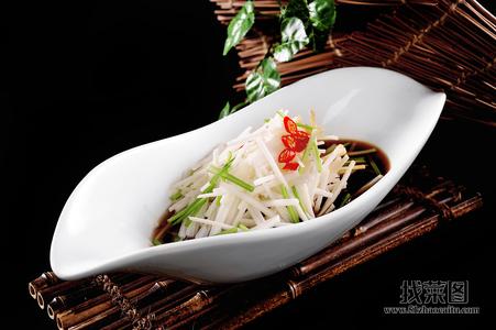捞汁淮山丝 - 找菜图