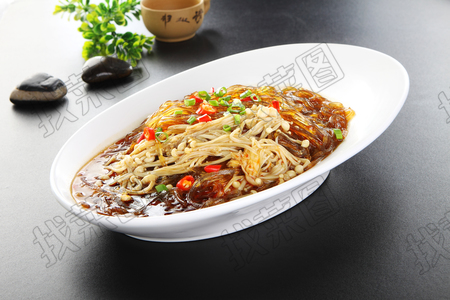 金针蘑炒粉 - 找菜图