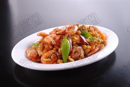 江虾爆豆嘴 - 找菜图