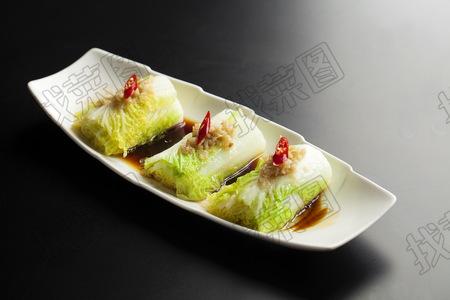 蒜香白菜 - 找菜图