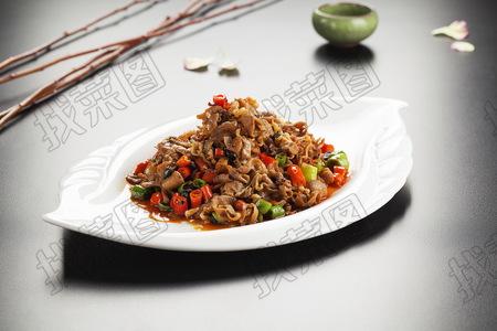 双椒炒肥牛 - 找菜图