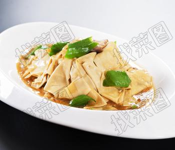肉炒平山干豆腐 - 找菜图