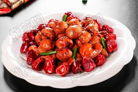 海椒爆鸡胗 - 找菜图