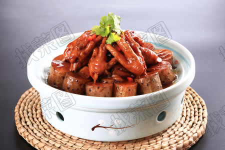 压锅山药鸡手 - 找菜图