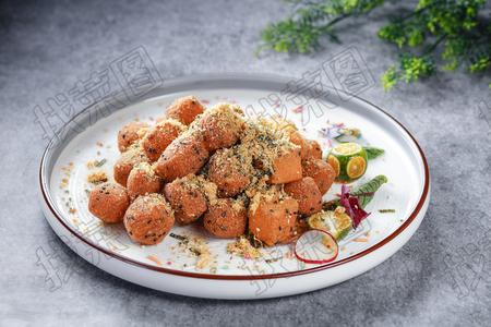 肉松海苔炸方包 - 找菜图