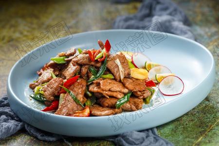 小炒蒙古肉 - 找菜图