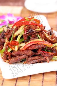 干煸牛肉条 - 找菜图