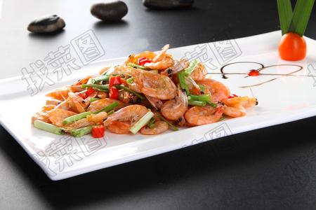 韭菜炒河虾 - 找菜图