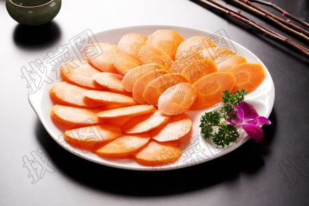 胡萝卜片 - 找菜图